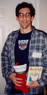 Geek of the Year 2001 Mike Ringenbach